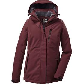 killtec KOW 140 Jacket Women, rood/bruin